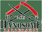 House of handsome Logo - Edmonton, Sherwood Park Barber shop